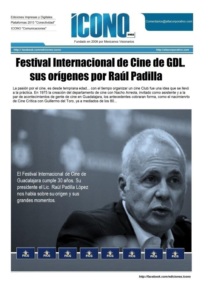 FICG 2015 Raúl Padilla López