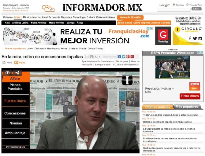 Video referncia de El INFORMADOR
