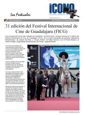 Festival Int. de Cine de Guadalajara (FICG)